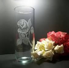 Engraved Glass Vases Engraved Glass Vase This Is What Is Capable With Our Co2 Laser