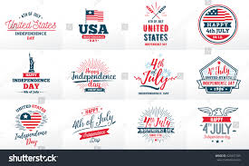 4th july united stated independence day stock vector 429447703