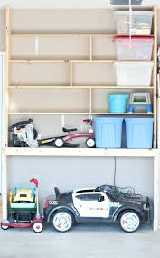 How To Organize Garage - to organize your garage with custom built in shelving