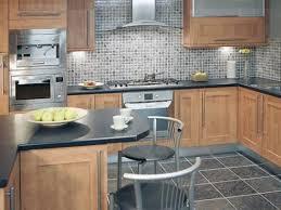 glass mosaic tile kitchen backsplash modern kitchen with mosaic
