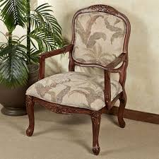 Upholstered Accent Chair Innovative Upholstered Accent Chair With Tropical Palm Upholstered