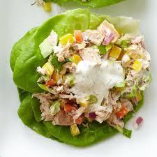 Tuna Salad Mediterranean Style Crunchy Confetti Tuna Salad Recipe Eatingwell