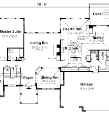 Ranch Floor Plans With Basement by Ranch Style House Plans With Basements Ranch House Plans With