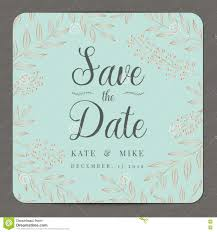Wedding Invitation Card Template Save The Date Wedding Invitation Card Template With Copper Color