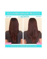 sugarbearhair gummy hair vitamins 60 gummies per bottle