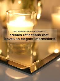 Centerpiece Mirrors Bulk by Amazon Com 12