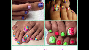 summer pedicure ideas toenail art designs youtube