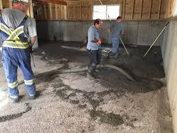 how to build a house step 10 pour basement concrete
