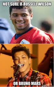 Russell Wilson Memes - not sure if russell wilson or bruno mars wilson quickmeme