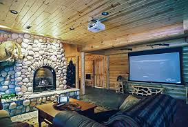 Log Siding For Interior Walls Rustic Man Cave Build Your Own Log Cabin Man Cave
