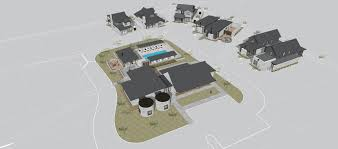 site plan the residences at rough creek lodge ranch homes for sale