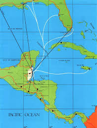 map usa central america map of the southern usa caribbean central america with travel
