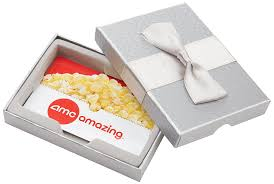 buy amc gift card amc theatres 50 gift card in a gift box gift cards