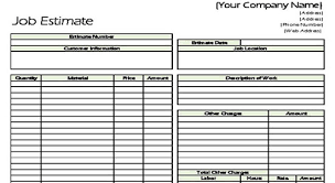 Mechanical Construction Estimating by Construction Estimate Forms Pdf Cost Estimating Sheet