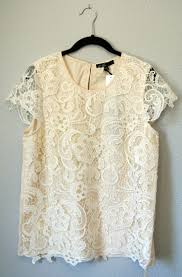 collection of white short sleeve blouse armani collezioni short