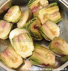 cuisiner les artichauts violets recette artichaut violet à la vinaigrette sur recoin fr