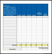 one year excel budget template template update234 com template