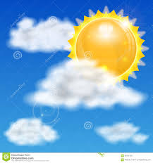 sun and clouds stock vector illustration of cloudscape 36102133