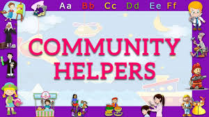 abc phonics song of community helpers kids nursery rhymes youtube