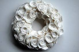 felt wreaths diy inspired
