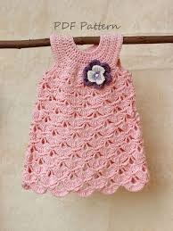 baby girl crochet crochet baby dress crochet pattern baptism baby girl dress