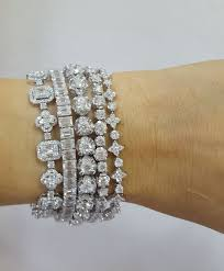 diamond bracelet women images Best 25 diamond bracelets ideas diamond jewellery jpg