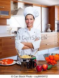 chef cuisine femme chef cuistot portrait femme cuisine femme uniforme photo de