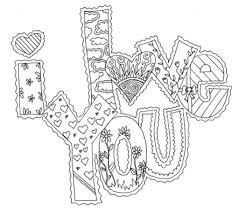 top valentines day i love you coloring pages womanmate com