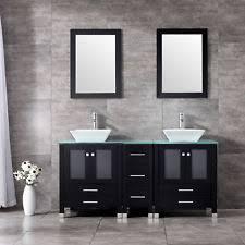 Solid Wood Bathroom Cabinet Solid Wood Bathroom Vanity Ebay