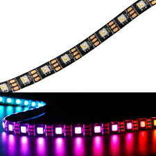 flexible led lighting film 5m 5v sk6812 rgbw flexible led strip ribbon tape rgbcw rgb warm cool