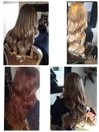 Boheme Hair Extensions by Biscuit Caramel Marcel Waves On Beauty Works Hair Extensions By