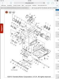 axel and carrier o ring help part numbers yamaha raptor forum