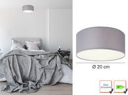 Wohnzimmer Lampen Ebay Led Deckenlampe Rund Stoffschirm Satinierte Abdeckung Wohnzimmer