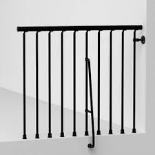 Exterior Stair Handrail Kits Shop Stair Railing Kits At Lowes Com