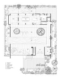 house plan gallery of the courtyard formwerkz architects with