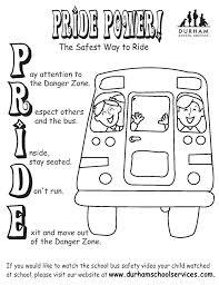 preschool coloring pages school school bus safety coloring pages preschool to cure bus safety