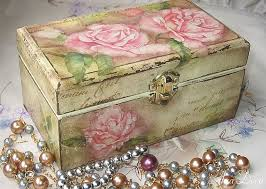 Decoupage Box Ideas - decoupage box roses decoupage box and decoupage ideas