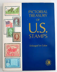 stamp book stamp collectors pictorial treasury of u s