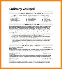 Sous Chef Resume 10 Chef Cv Examples Incidental Report