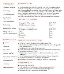 Intern Resume Examples by Internship Resume Template 7 Download Free Documents In Pdf Word