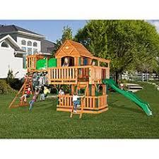 Backyard Discovery Montpelier Cedar Swing Set Backyard Discovery Skyfort Ii Cedar Swing Set Play Set Cedar
