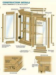 curio cabinet curio cabinetns pdf for woodworking free