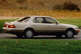1992 lexus ls400 5 japanese cars that shocked the auto industry 25 years ago