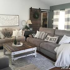 Decorating Living Room With Gray And Blue This Country Chic Living Room Is Everything Rachel Bousquet Has