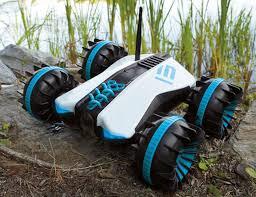amphibious car rover land and sea amphibious vehicle gadget flow