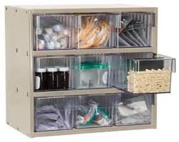 medical supply storage cabinets stackable medical supply cabinet w clear drawers gives you benchtop