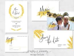 cartes mariage faire part mariage epis de blé cartes assorties happy