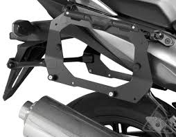 sw motech quick lock evo contour sidecarriers to fit givi v35 plx