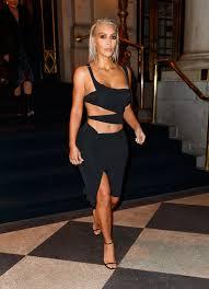ny dress rocks a shredded dress at new york fashion week