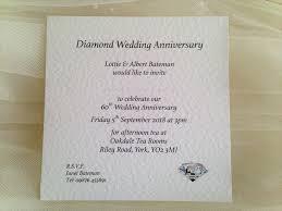 60th wedding anniversary invitations square wedding anniversary invitations for your 25th silver 40th